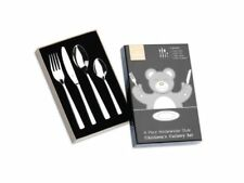 Grunwerg 4 Piece Westminster Style Stainless Steel Children's Cutlery Set