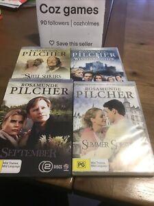 Rosamunde Pilcher Dvd Bundle X4 September/winter/summer Solstice/shell Seekers
