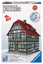 Ravensburger 3d Gebäude Puzzle Fachwerkhaus 216 teile
