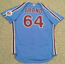 ARANO #64 size 48 2020 PHILADELPHIA PHILLIES Home RETRO Game Jersey MLB holo