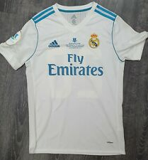 Real Madrid 2017/18 Spanish Supercopa Asensio Adizero Match Issue Shirt - New