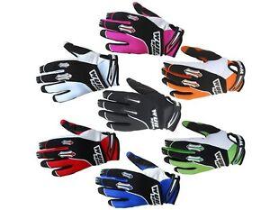 Wulfsport Wulf Stratos Childrens Kids Motocross Quad BMX Cycle Bike Gloves