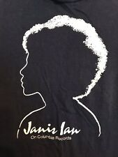 Janis Ian T-SHIRT Aftertones VINTAGE Columbia Records RARE