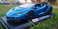 Maisto 1:18 Scale Lamborghini Centenario - Blue - Diecast Model Car