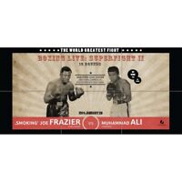 Frazier V Ali 1974 Boxing Giant Wall Art New Poster Unique Print Picture