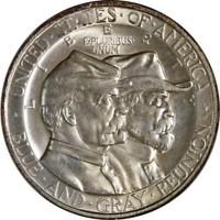 1936 Gettysburg Commem Half Dollar Old Fatty Holder NGC MS65 Superb Eye Appeal