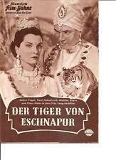 Film Bühne Der Tiger von Eschnapur  Autogramm  Paul Hubschmid Kino UFA  6