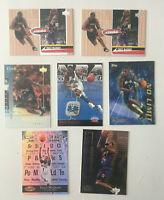 Tracy McGrady 7 Card ROOKIE & INSERT Lot! 2 Hardcourt RCs-Neophytes-Shirtified++