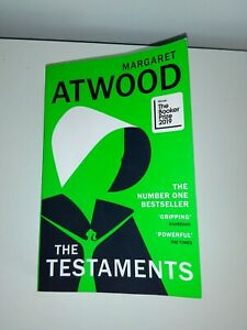 The Testaments, By Margaret Atwood. Follow On From The Handmaid's Tale. Like new