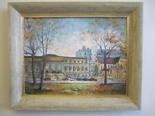 """ Saint Louis Public Library"" oil on canvas , listed artist Irek T. Szelag"