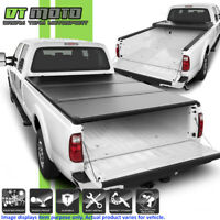 "Hard Tri-Fold Tonneau Cover For 1999-2018 Ford SuperDuty 8 Feet (96"") Long Bed"