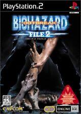 USED PS2 ??BioHazard Resident Evil Outbreak FILE2