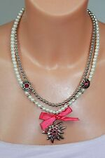 Markenlose Modeschmuck-Halsketten & -Anhänger im Collier-Stil aus Perlen für Damen