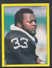 Topps 1982 American Football Sticker No 256 - Kenny King, Oakland (T186)