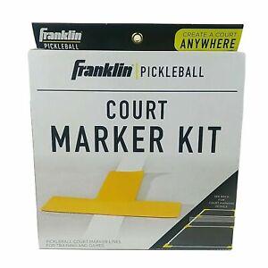 Pickleball Court Marker Kit Pickle Ball Full Reusable Set Outdoor Sport Activity