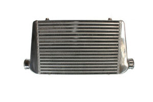 Cooling Pro Tube & Fin Intercooler - 450 x 300 x 76mm 2.5 Inch Outlets