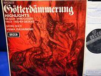 @DECCA SXL 6220 WBg ED2 1ST *SOLTI* WAGNER: GOTTERDAMMERUNG* VIENNA PHILHARMONIC