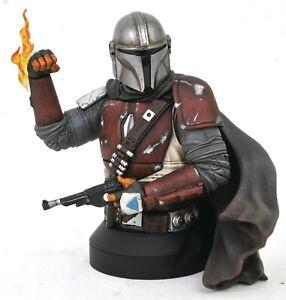 Star Wars Mandalorian MK1 1/6 Scale Gentle Giant Bust New & Sealed - UK Seller