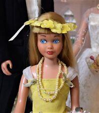 """Vintage Blond Skipper Barbie SL""""Flower Girl"""" #1904 (1964-65) Complete, Extra's!"""