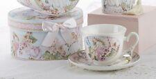 Delton Porcelain Tea Cup & Saucer Gift Set FAIRY