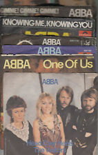 """Pack von 7"""" Singles von ABBA: Deutschland Polydor 8 Singles, 7 Covers"""