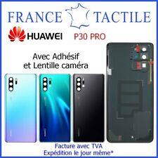 Vitre Arrière Cache Batterie avec Lentille Caméra Adhésif pour Huawei P30 PRO