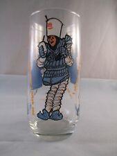 Vintage 1979 Collectors Burger King Glass Sir Shake- A-Lot Blue