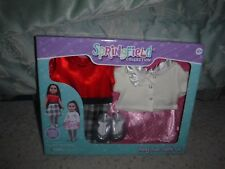 """Springfield Boxed 18"""" Doll Clothes Party Time 5 Pc 2 Outfits NEW - FREE SHIP"""
