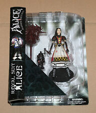 American Mcgee's Alice Madness Returns Diamond Select Royal Suit Action Figure