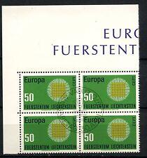 Liechtenstein 1970 SG#523 Europa Cto Used Block #A50803