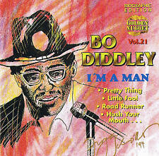 "BO Diddley ""i 'm A Man"" Top Blues! CD NUOVO & OVP Cosmus DSB 12 tracks"