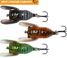 Savage Gear 3D Cicada - Wobbler, Oberflächenköder, Topwater Baits, Barschköder