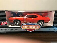 American Muscle 1969 Pontiac GTO Judge (orange) 1:18 scale