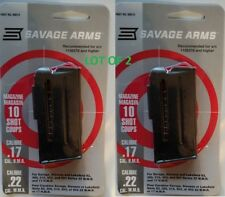 Lot of 2 - Savage Arms 93 Series 10 Round Magazine 17hmr / 22mag 10rd Mag 90010