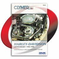 1974-1984 Harley Davidson FXE SHOVELHEAD Repair Manual Clymer M420 Service Shop