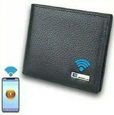 Smart Genuine Leather Bluetooth Locator and Anti Theft Alarm Wallet.