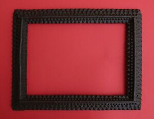 TRAMP ART PICTURE FRAME - 19th century (# 14153)