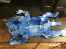 Triceratops Halloween dog costume. New. Size Medium. Blue in color.