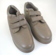 Womens Orthopedic Shoes Canfield by P.W. Minor Velcro DX2 Taupe Size 10 M 91371