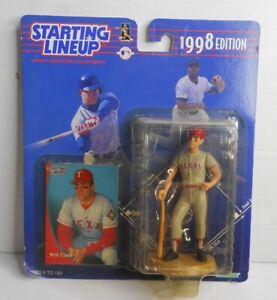 Will Clark Texas Rangers 1998 Starting Lineup World Series Baseball Collectible
