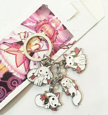 Puella Magi Madoka Magica cute metal keychain anime key chain gift new