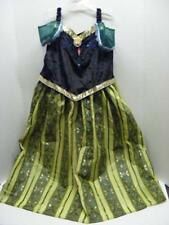 Disney Parks Frozen Princess Anna Dress Costume 10-12 Large Child NWT
