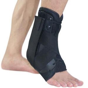 1x Sport Ankle Brace Support Orthotic Fascittis Tendon Splint Sprain Pain Relief