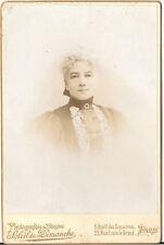 CAB Foto Feine Dame - Paris 1890er