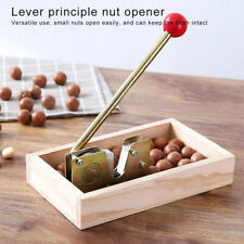 Macadamia Nuts Cracker Nut Clip Peeling Machine Hazelnuts Almonds Shell Craker