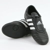 ON SALE!! Adidas Martial Arts, Karate, Training, Practice Shoes BLACK with WHITE