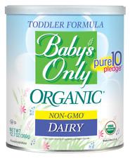 BABYS ONLY TODDLER FORMULA-ORGANIC NON GMO DAIRY-12.7oz-*NEW*SEALED-FREE SHIP