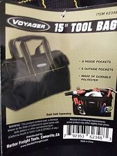 "Voyager 15"" Tool Bag Harbor Freight Tools Item 62348 Heavy Duty Canvas Bag"