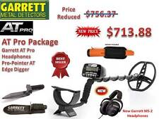 Garrett AT Pro Submersible Metal Detector, ProPointer AT & Edge Digger