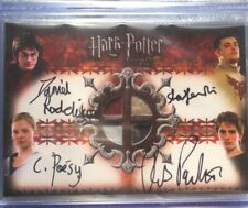 Harry Potter Goblet Of Fire Quad Auto